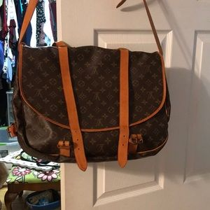 Louis Vuitton saddle bag